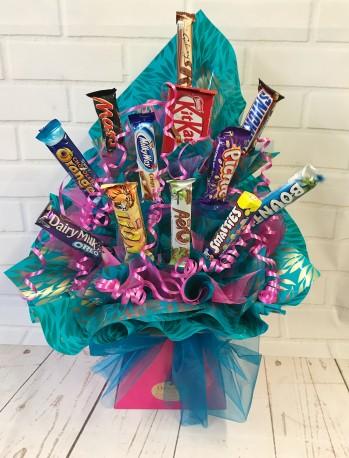 Chocolate Bar Bouquet
