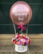 Hot Air Balloon Pink