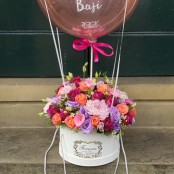 Hot air balloon hat box